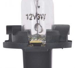 "OER 1957-1984 Dash Instrument Socket and Bulb - 5/8"" (Bayonet-Style) CX1807"