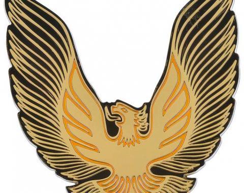 OER 1979-81 Trans AM Fuel Filler Door Emblem Gold 5973148