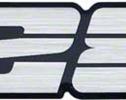 1993-2002Camaro Rear Panel Emblem Z28 Black w// Red Bowtie EA