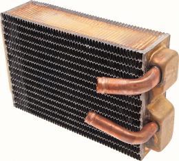 "OER 1967-68 Camaro / Firebird, 1968 Nova without AC Copper/Brass Heater Core (9-1/2"" x 6-1/2"" x 2-1/2"") 3013319"