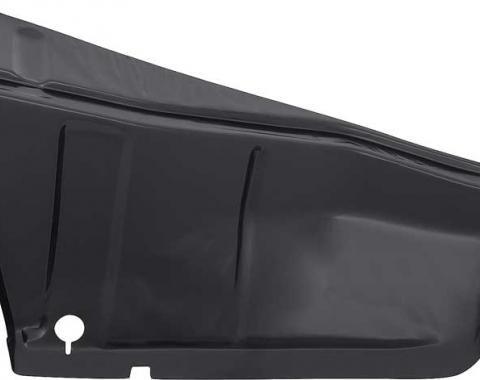 OER 1967-68 Camaro / Firebird Trunk Lower Side Panel Drop Down Extension, RH C109R