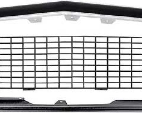 OER 1967-68 Camaro RS Restorer's Choice™ Grill Kit without Silver Trim / with Headlamp Bezels *R5027C
