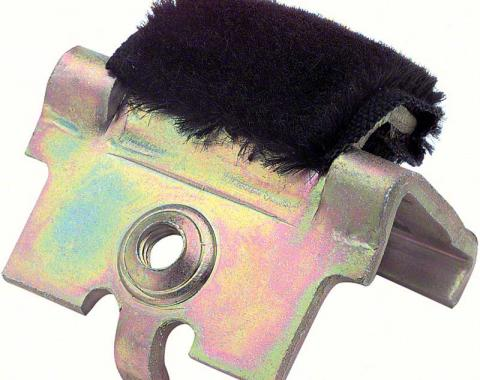 OER 1970-79 Camaro / Firebird Inner Door Panel Retainer Plate with Felt - Center and Rear K760
