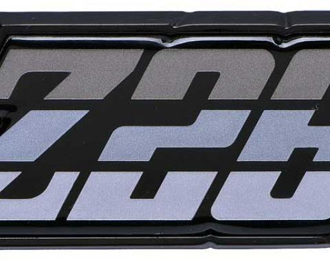 "OER 1980-81 Camaro ""Z28"" Silver Fuel Door Emblem 9637803"