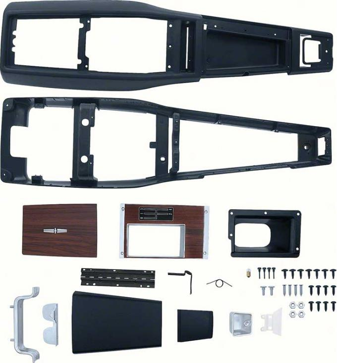 OER 1968 Camaro 4 Speed Manual Transmission Console Kit without Console Gauges *R753