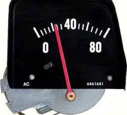 OER 1968-76 Black Mechanical Console Oil Pressure Gauge 6462896