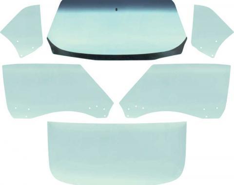 OER 1968-69 Camaro / Firebird Coupe 6 Piece Tinted Glass Kit *E351T
