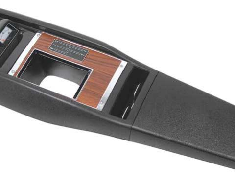 OER 1969 Camaro Console Assembly - 4 Speed Man Trans - with Gauges - Pre Assembled R316906