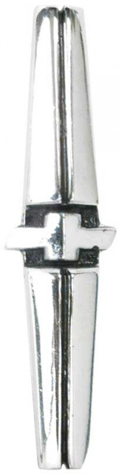 OER 1968-69 Camaro, 1968-74 Nova Forward Console Plate Emblem 3918614
