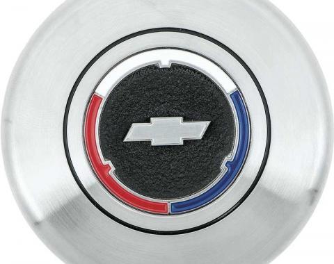 OER 1963-70 Chevrolet Wood / Comfort Grip Wheel Bow Tie Horn Cap 3945461