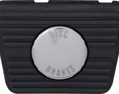 OER 1967-76 with Manual Transmission and Front Disc Brakes Brake Pedal Pad 3935721