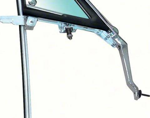 OER 1967 Vent Window Frame Assembly with Tinted Glass RH F526T