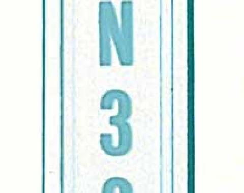 OER 1967 Camaro / Firebird, 1968-74 Nova Turbo 350/400 Console Shift Lens 3986833