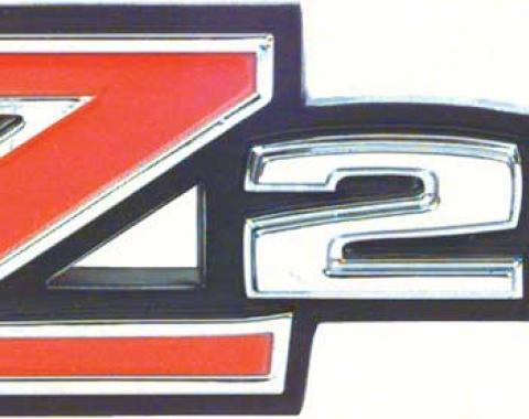 "OER 1970-73 Camaro ""Z28"" Rear Spoiler Emblem 3981889"