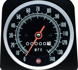 OER 1969 Copo Camaro without Speed Warning 140 Mph Speedometer 6492575