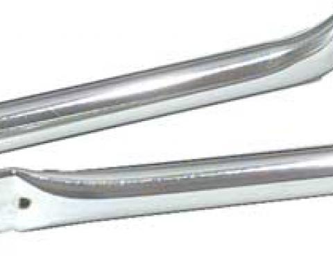 OER 1967-69 Camaro / Firebird Chrome Fender to Radiator Support Bars T9175