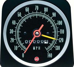 OER 1969 Copo Camaro with Speed Warning 140 MPH Speedometer 6492576