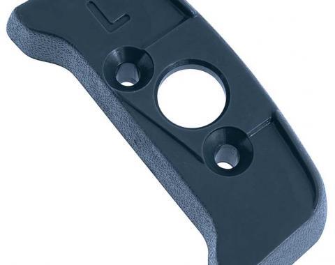 OER 1974-92 Seat Belt Shoulder Belt Guide Escutcheon - LH - Blue 20552360
