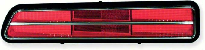 OER 1969 Camaro RS Tail Lamp Lens, LH 5960963