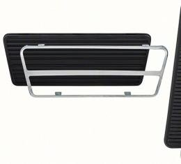 OER 1969-81 GM Pedal Pad and Trim Plate Kit, Auto Trans, 6 Piece Kit, Various Models *R5002