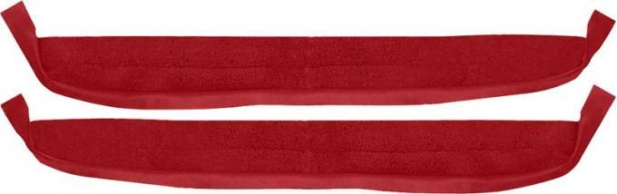 OER 1967 Camaro / Firebird Red Loop Deluxe Door Panel Carpet K626702