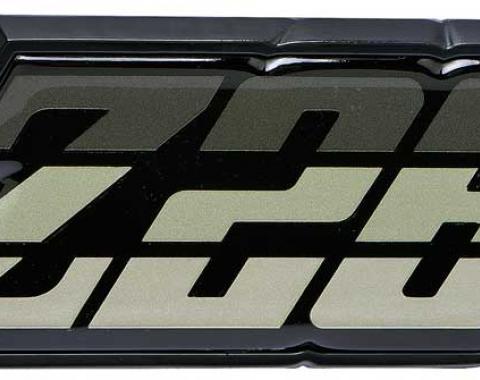 """OER 1980-81 Camaro """"Z28"""" Green Fuel Door Emblem 9637806"""