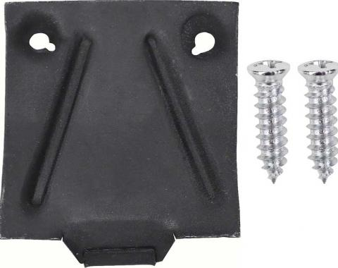 OER 1967-68 Camaro / Firebird Glove Box Catch Plate Set *K891