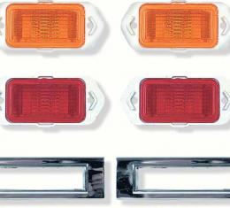 OER 1969 Camaro Side Marker Lamp Kit *R5013