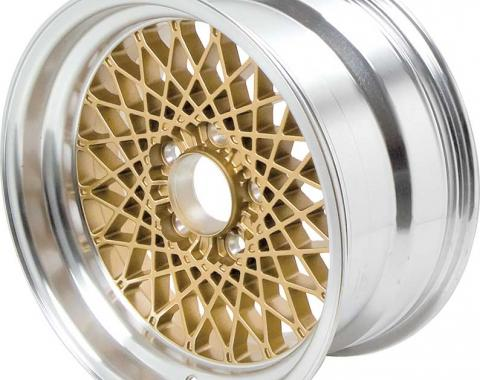 "OER 16"" X 8"" Gold GTA Style Alloy Wheel with 5"" Backspacing and 16mm Offset 10104407"