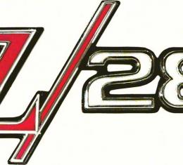 "OER 1969 Camaro ""Z/28"" Rear Panel Emblem 8701333"