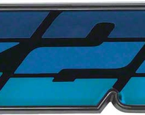 "OER 1980 Camaro Blue ""Z28"" Grill Emblem 14024334"