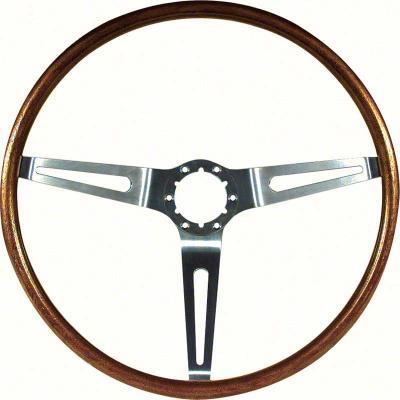 """OER 1967-68 16"""" Walnut Steering Wheel 9746195"""
