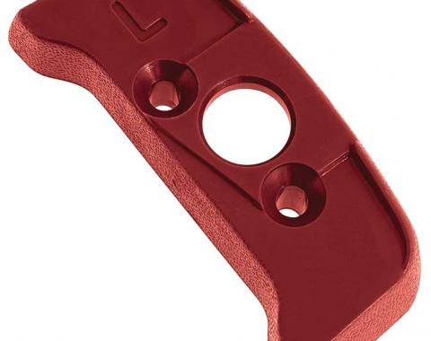 OER 1974-92 Seat Belt Shoulder Belt Guide Escutcheon - LH - Firethorn 20552362