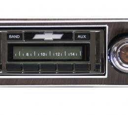 Custom Autosound 1967-1968 Chevrolet Camaro USA-230 Radio