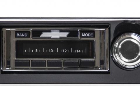 Custom Autosound 1967-1968 Chevrolet Camaro USA-630 Radio