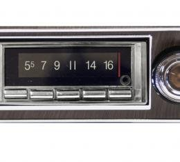 Custom Autosound 1967-1968 Chevrolet Camaro USA-740 Radio