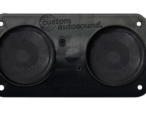 Custom Autosound 1967-1977 Pontiac Firebird Dual Speakers
