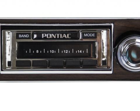 Custom Autosound 1967 Pontiac Firebird USA-630 Radio