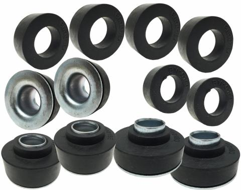 Camaro Subframe & Radiator Support Mounting Bushing Set, 1967-1972