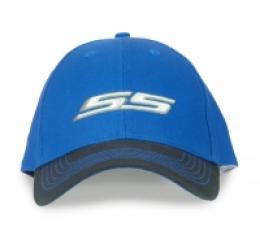 Chevy Super Sport Hat, Royal Blue with Black Bill